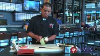 Lollipop Sushi Roll Demo - Sushi Bushido In Kapaa - Kvic-tv, Mykauai.com [chef Demo]