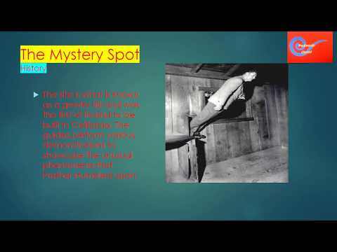 Travel to United States: The Mystery Spot
