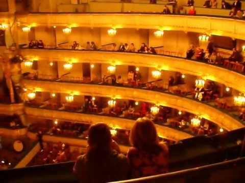 A night at Mariinsky Theater