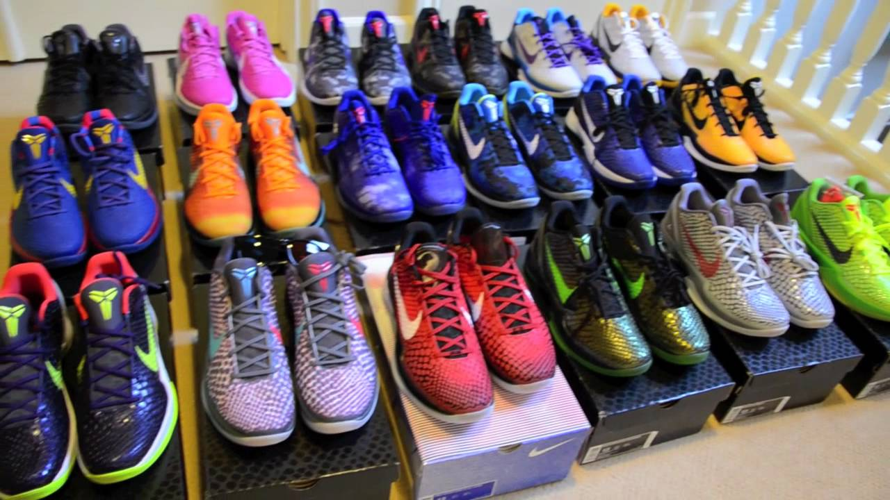 Kobe VI Collection  Updated Shoe Room 10222011  YouTube
