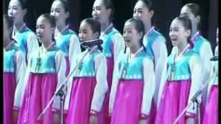 Korean children singing Nepali national anthem