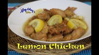 Lemon Chicken (Filipino)
