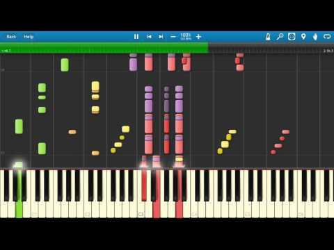 【Synthesia】Doraemon no Uta almost piano ver =