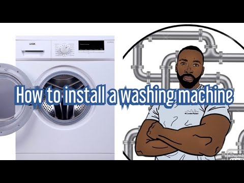 How To Install A Washing Machine With Mr London Plumber