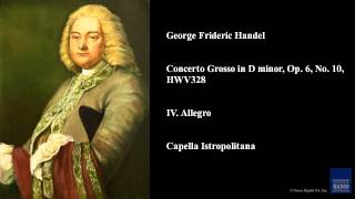 Play Concerto Grosso In D Minor, Op.610, Hwv 328