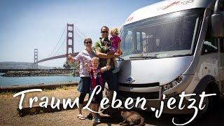 Das Traum-Leben Wohnmobil | Weltreise mit Kindern und Hund