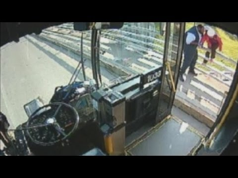 Bus driver hailed a hero for saving woman from suicide attempt in Buffalo, US