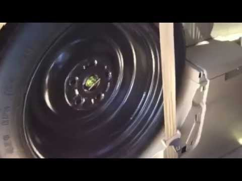 Spare Tire Location 2005 Honda Odyssey Youtube