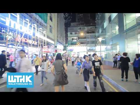 Walk to Times Square from Causeway Bay station the quickest route