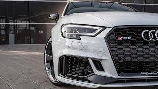 HOTTEST HATCH? - The 400hp 2018 AUDI RS3 SPORTBACK (5cyl,Turbo) - Black optics (+0-270kmh)