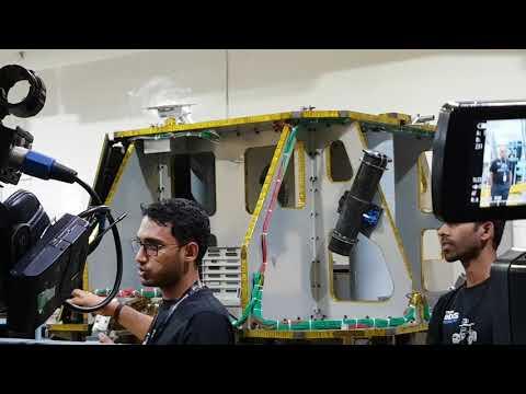 Google Lunar Xprize at Team Indus - Shot on Dji Osmo Mobile
