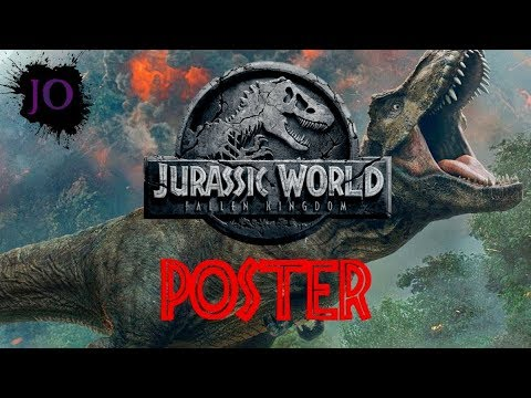 New Poster for Jurassic World: Fallen Kingdom!!!