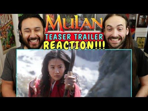 MULAN (2020)   Teaser TRAILER - REACTION!!!