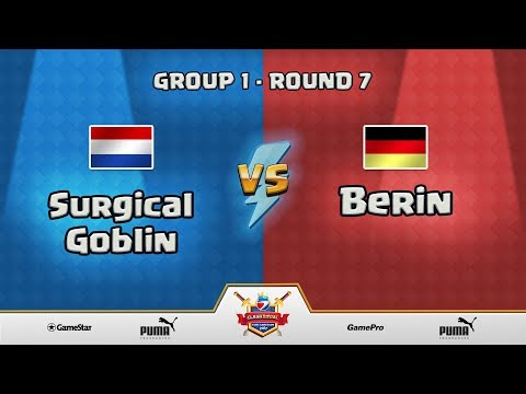 ESWC Gamescom 2017 Clash Royale - Group 1 - Round 7 - Surgical Goblin vs Berin