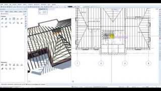 Видео урок по программе Allplan 2015 (4 Крыши {2 часть})(В этом видео уроке мы рассмотрим прилегающие по всему контуру крыши. Как создать конструкцию крыши то есть..., 2015-10-20T17:54:52.000Z)