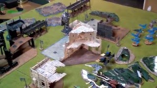 7th Ed Warhammer 40k Battle Report Dark Eldar vs Eldar 1500pts