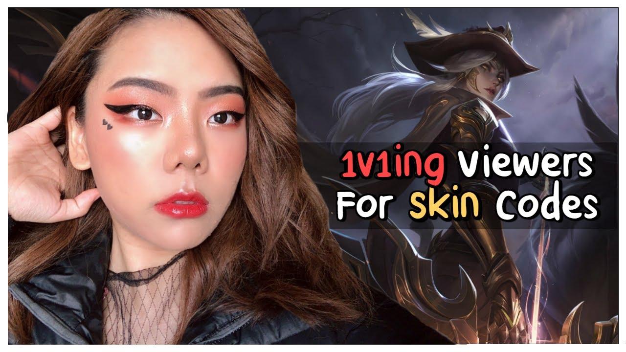 1v1ing Viewers for Skin Codes | Dumplings