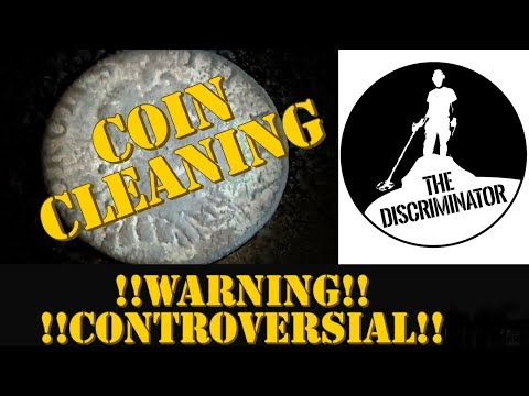HOW TO CLEAN OLD COINS AND METAL DETECTING FINDS