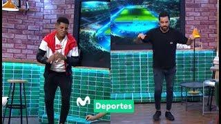 Al Ángulo: Wilder Cartagena muestras us pasos de baile y...¡Franco Cabrera también!