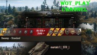 M103  11 kills Swamp  Replay World of Tanks  0.9.14