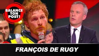 Suppression des avantages des politiques : un gilet jaune face à François de Rugy