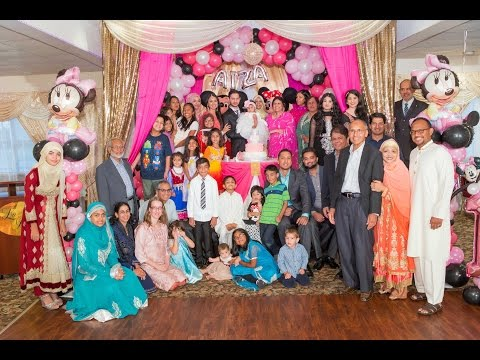 The Grand Entrance of Aiza's First Birthday Party Toronto