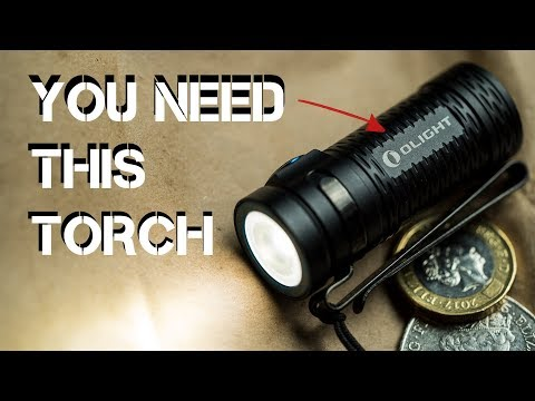 The BEST Torch / Flashlight for the Camping Filmmaker | Olight S1 Mini Baton HCRI