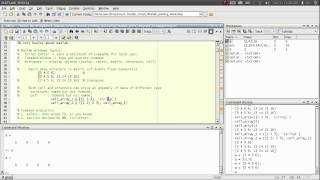 02.2 matlab basic data structures