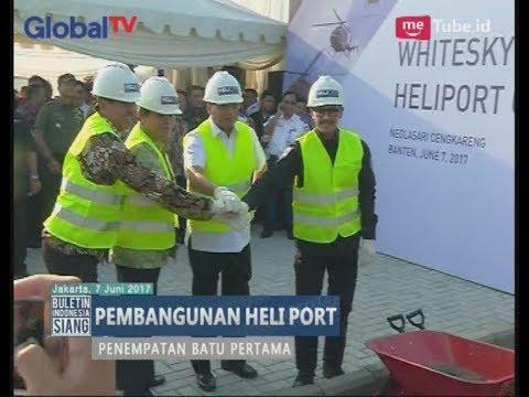 Kemenhub Meletakan Batu Pertama Pembangunan Heli Port di Kawasan Bandara Soeta - BIS 08/06