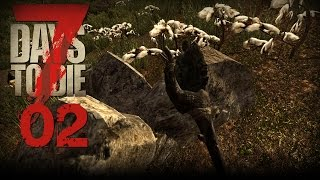 7 Days to Die [02] [Steinaxt Massenproduktion und Powerleveling] [Let's Play Gameplay Deutsch] thumbnail