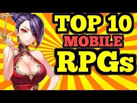 TOP 10 Mobile RPG's 2018 - (Gacha/Hero Colllectors)