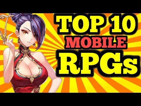 TOP 10 Mobile RPG's 2018 - (Gacha/Hero Colllectors)