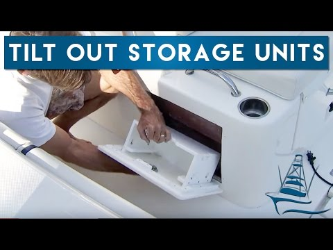 Tilt Out Storage Units