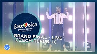 Mikolas Josef - Lie To Me - Czech Republic - LIVE - Grand Final - Eurovision