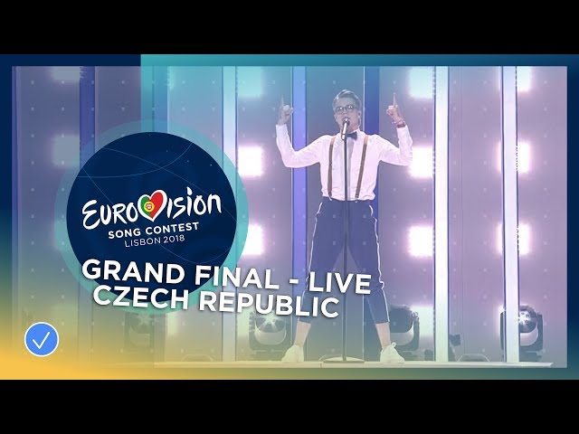 Mikolas Josef - Lie To Me - Czech Republic - LIVE - Grand Final - Eurovision 2018