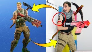 FORTNITE SKINS IN REAL LIFE!! | Xam