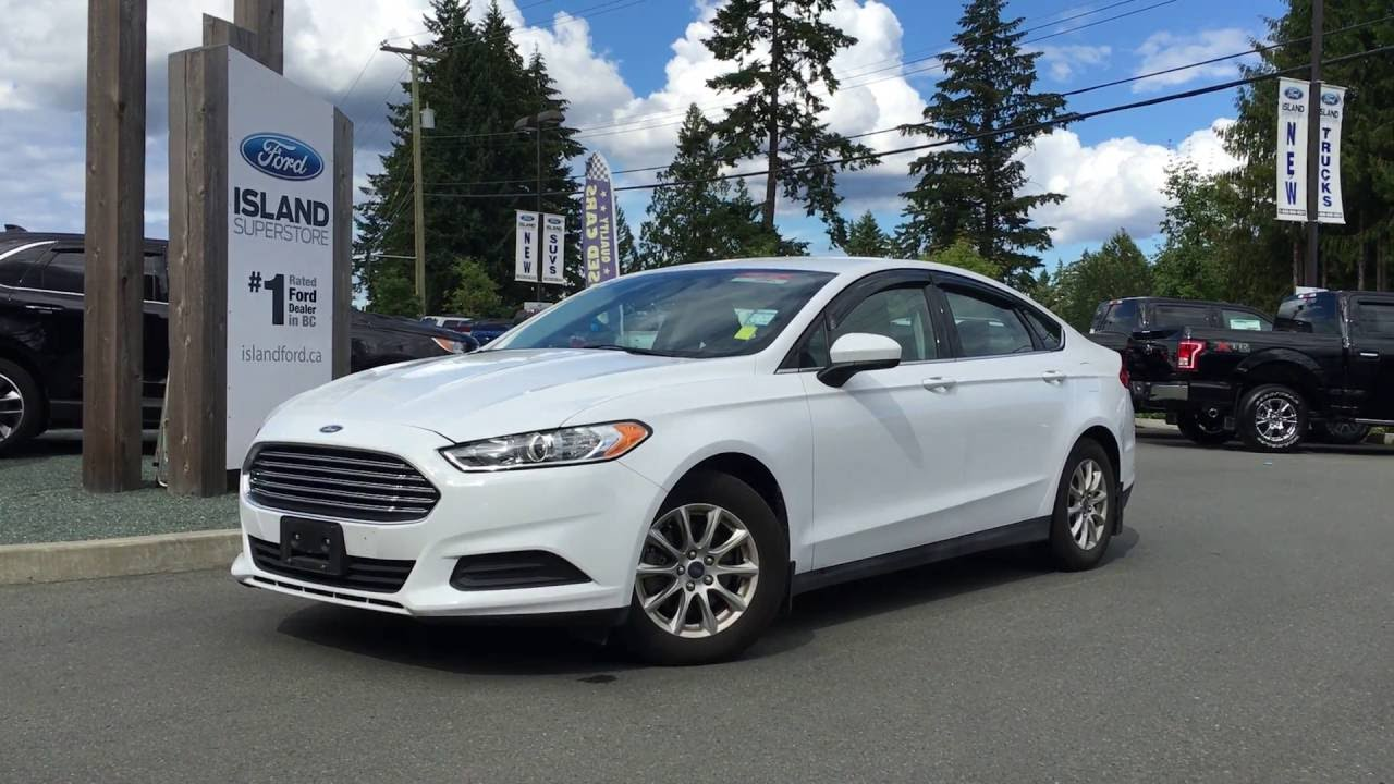2016 ford fusion s cargo net power trunk review island ford youtube. Black Bedroom Furniture Sets. Home Design Ideas