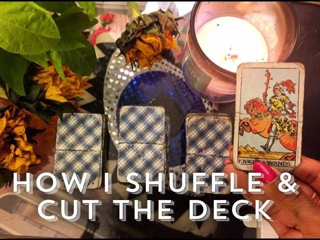 Shuffling Your Tarot Deck