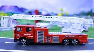 รีวิวของเล่นจิ๋ว รถดับเพลิง เครื่องบิน รถบรรทุก รถของเล่นเซตใหญ่
