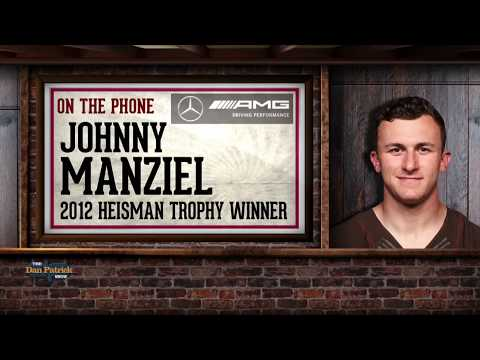 Johnny Manziel Talks NFL Comeback, Addiction with Dan Patrick   Full Interview   4/4/18
