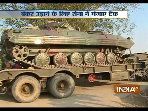 Tanks introduced by Indian Army to destroy Pak bunkers