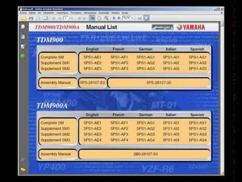 yamaha tdm900 service manual taller manuel reparation rh youtube com tdm 850.service.manual.pdf tdm 850 service manual free download