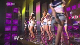 HD SNSD - Tell Me Your Wish (Genie) Jul24.2009 GIRLS' GENERATION Live 720p