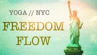 55 min Yoga Flow Total Body Flexibility, Open Hamstrings, Toned Legs, Balance | Freedom Flow NYC