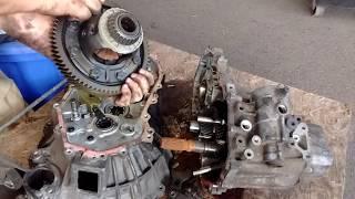 Диференціальний видалення - Тойота МР2 механічна коробка передач - прискорений метод
