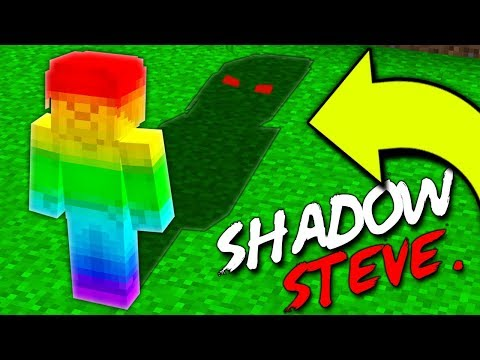 RAINBOW STEVE IS BEING SPIED ON BY SHADOW STEVE!