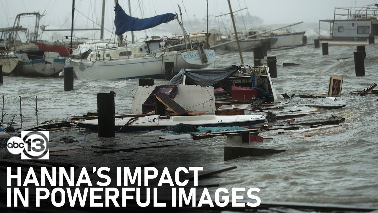 The most powerful moments from Hurricane Hanna