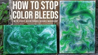 Preventing Color Mixing in Epoxy Resin | Art Resin