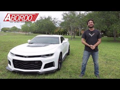 Chevrolet Camaro 2017 - Prueba A Bordo Completa
