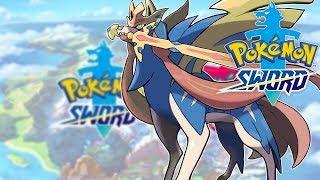Pokemon Sword  - LEGENDARNY ZACIAN! [POST GAME]